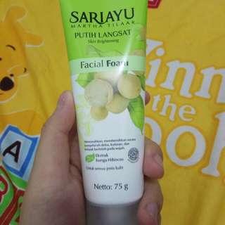 Sariayu facial foam new