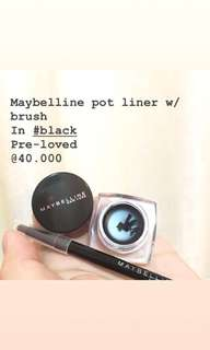 Maybelline pot liner w/ bruch #black