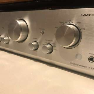 onkyo 9377 integrated amplifier( to clear )