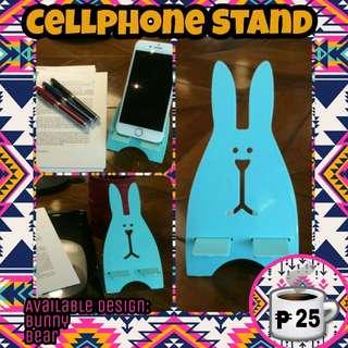 Easter Bunny Rabbit Teddy Bear Pastel Cellphone Stand Bracket Party Baptism Souvenir Giveaway