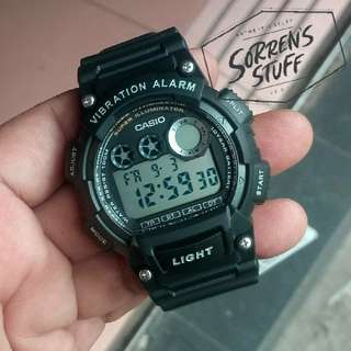Jam Casio Original W-735H