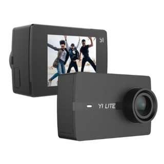 🚚 YI Lite Action Camera (Black) with Waterproof Case (Free Gift Sandisk 16GB MicroSD card and Camera Case) *Brand NEW*