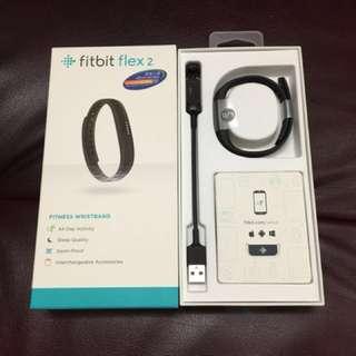 Fitbit Flex 2 (fitness wristband) 95% new 黑色