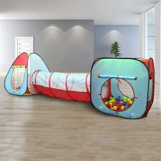 Baby Play Tent With Tunnel