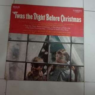 'IWas The Night Before Christmas Vinyl LP