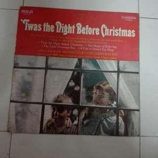 'IWas The Night Before Christmas Vinyl LP