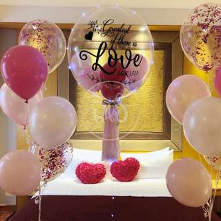 Wedding/ Anniversary/ Proposal Personalised Balloons