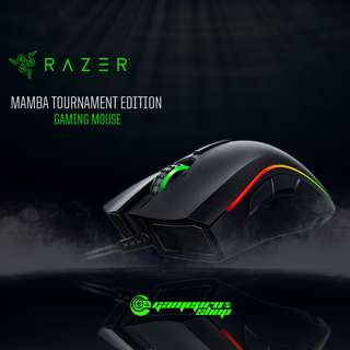 Razer Mamba Tournament Edition- Multi-color Ergonomic Gaming Mouse AP Packaging
