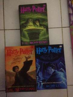 Novel Harry Potter original