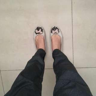 [二手]KOKKO米灰色娃娃鞋