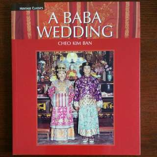 A BABA WEDDING (peranakan)