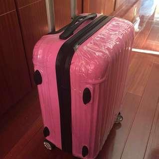 20吋粉紅色行李箱 suitcase 32x48x22cm