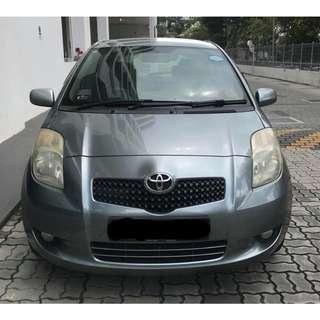 Toyota Yaris [LOW RENTAL! UBER & GRAB ENABLED]