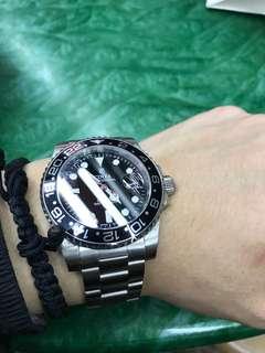藍寶石 Cinta GMT 款 鋼錶