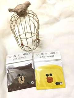Line friends / Kakao friends T money card