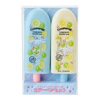 Japan Sanrio Cinnamoroll Fruit Bar Shape Color Pen Set (Fruit)