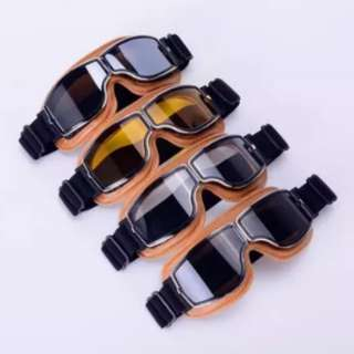 RETRO Cafe Racer Goggles