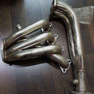 4-2-1 stainless steel header for D16Y/Z Civic ESI