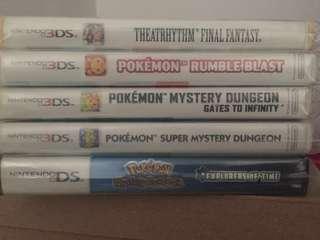 3DS Games Pokemon atbp