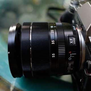 18-55mm F2.8-4 Fujifilm Lens