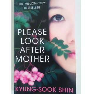 Book for SALE! (Please Took Care of Mother - Kyung Sook Shin)