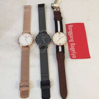 Authentic DW Watches size 36mm