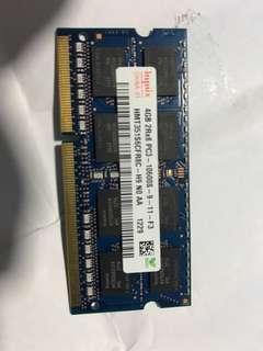 Laptop Ram 4GB PC3-10600S