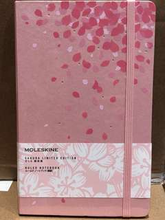 moleskine limited sakura notebook 100% new 全新 櫻花