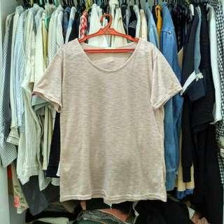 Made in korea blush shirt