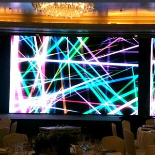 AVL LED wall stage sound light and image events