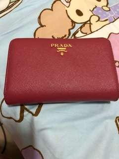 Prada Wallet 銀包 9成新