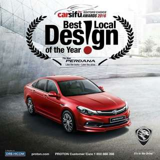 New Proton Perdana 2.4 Auto