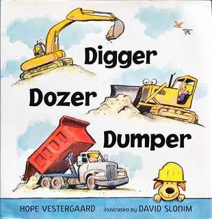 Diggers, Excavators, etc.