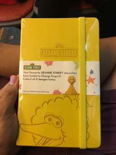 Elmo big bird notebook