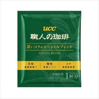 UCC 職人精選濾掛式咖啡(18包獨立包裝)