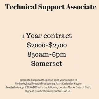 Technical Support Associate