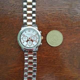 Aeropostale two tone watch