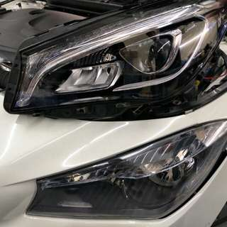 Mercedes Facelift LED Headlamp