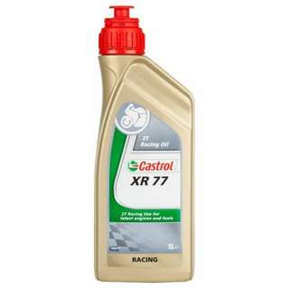 Castrol XR77 2T Racing Oil.