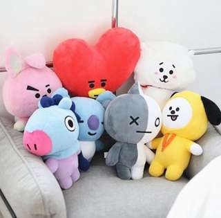 [PO] BT21 UNOFFICIAL PLUSHIE