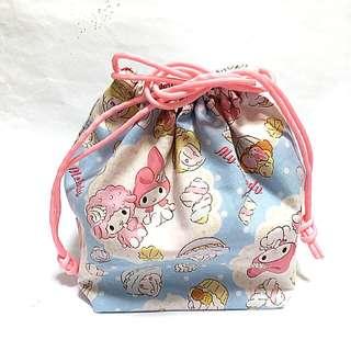 My Melody Drawstring Lunch Bag