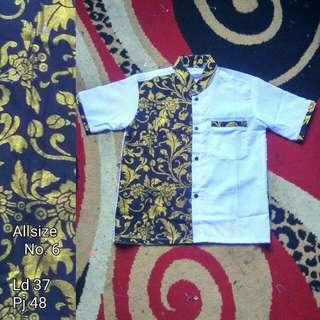 Short sleeve batik