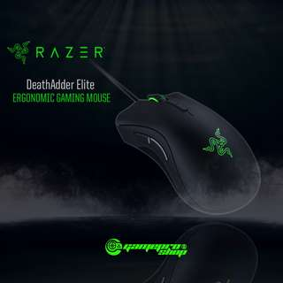 Razer DeathAdder Elite – Ergonomic Gaming Mouse (RZ01-02010100-R3A1)