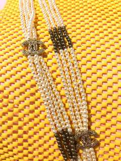 Necklace Chanel pearl