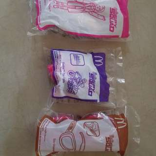 MCDO HAPPY MEAL TOYS