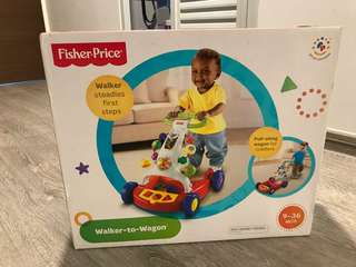 Brand New Fisher-price Walker Wagon