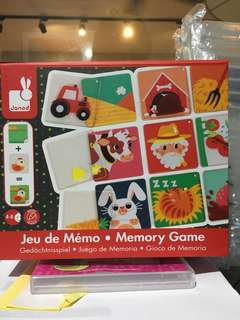 Janod Memory game