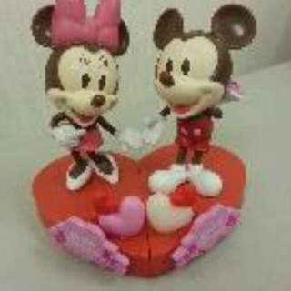 Mickey Mouse 米奇老鼠情人節版公仔 Happy Valentine