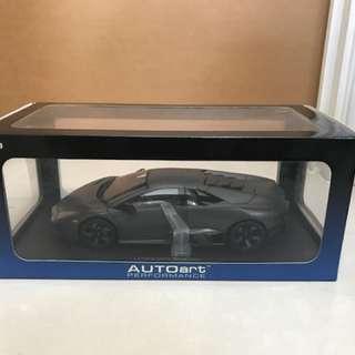 全新絕版Autoart 1/18 Lamborghini Reventon Grey