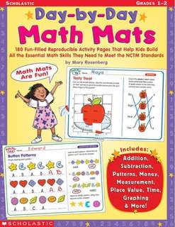 Scholastic Day-by-Day Math Mats Grade 1-2(PDF)